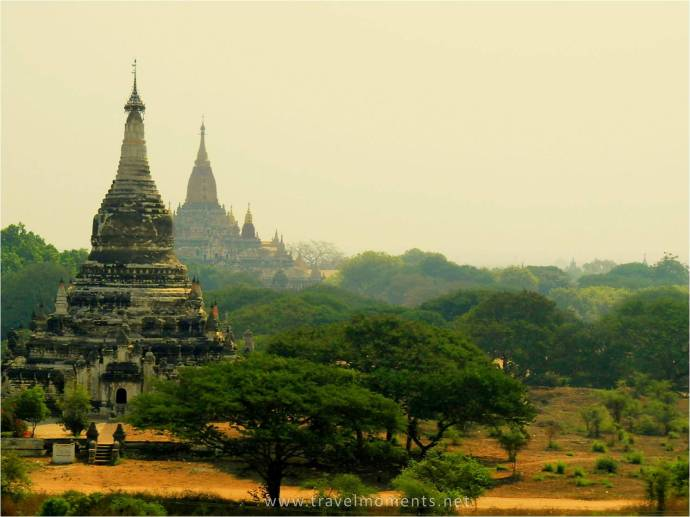 Bagan, Temples, Panorama