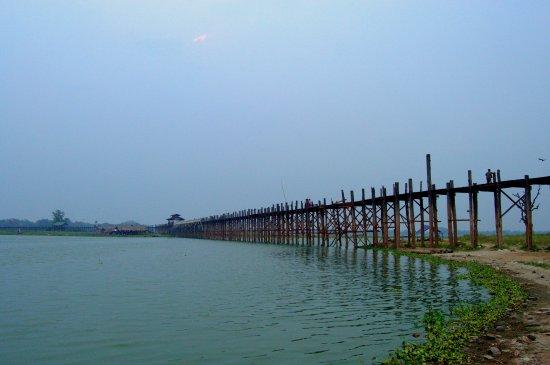 U-Bien Bridge in Amarapura